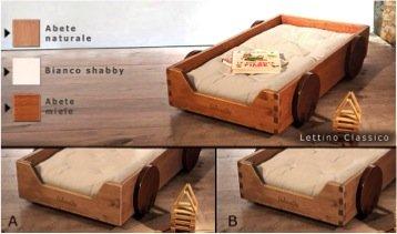 Lettino montessori per bambini: il modello classico