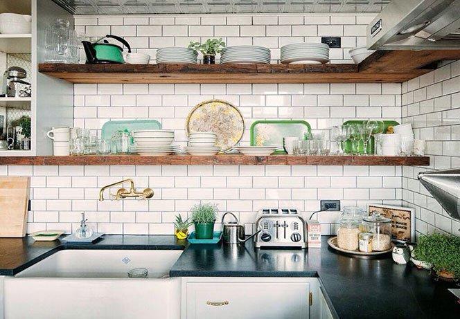 organizzare gli spazi in cucina