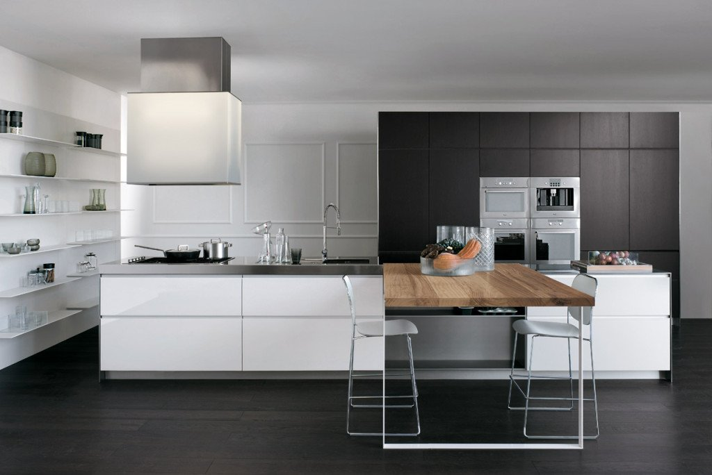 cucine con penisola idee e consigli di arredamento designandmore arredare casa. Black Bedroom Furniture Sets. Home Design Ideas
