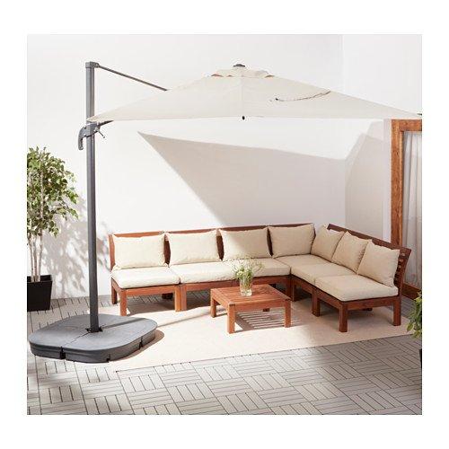 Ikea giardino tanti mobili e accessori consigliati per il for Ikea ombrelloni terrazzo