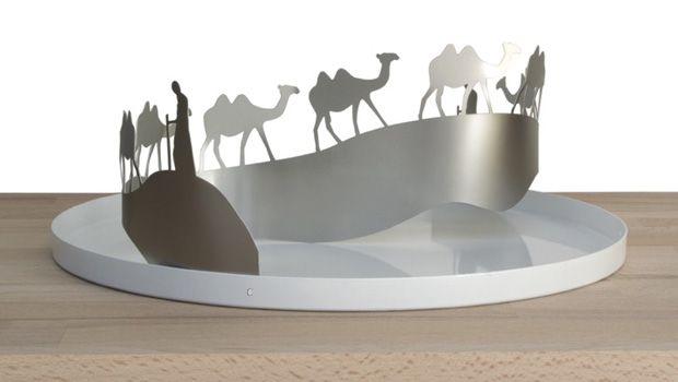 I vassoi Migrazioni di Andrea Branzi: caravanserraglio