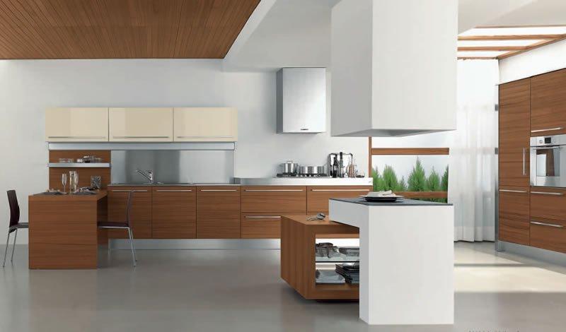 Cucine in legno vantaggi e svantaggi consigli e foto di esempi - Come rivestire la cucina ...