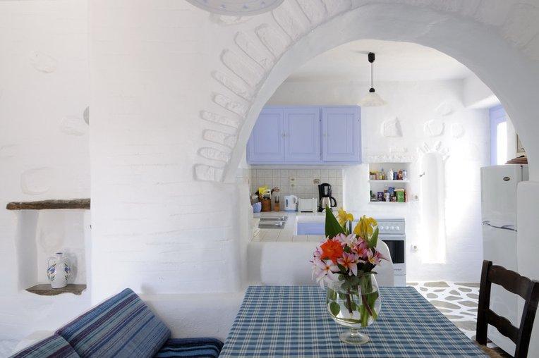Arredare la cucina in stile marina: bello questoe sempio di cucina in stile marinaro