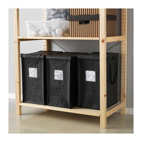 Contenitori per differenziata casa prezzi ed esempi for Porta sacchetti ikea