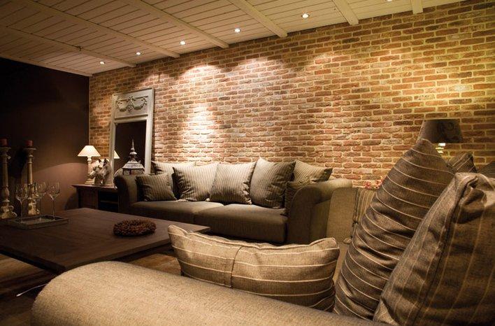 Mattoni faccia a vista per interni consigli e foto di - Muri finti per interni ...