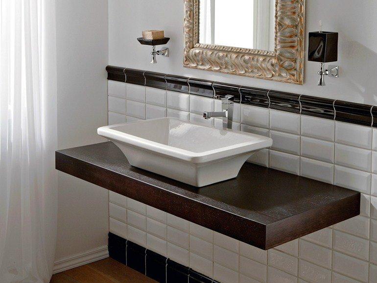 Lavabi da appoggio soluzioni materiali e prezzi di mercato designandmore arredare casa - Ceramiche bagno prezzi ...