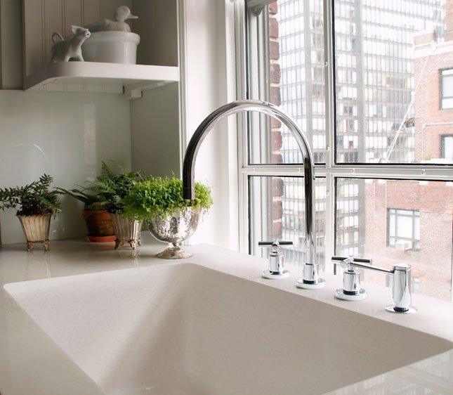 Lavabo in pietra in cucina: lavandino massello della Ranieri