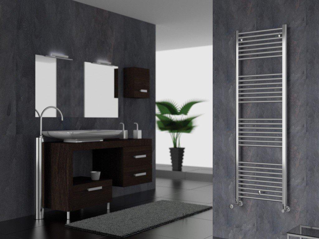 Riscaldamento bagno radiatori soluzioni a pavimento e scaldasalviette designandmore - Scaldasalviette da bagno ...