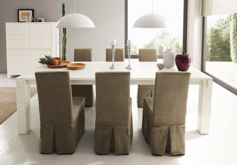 Sedie rivestite in tessuto spunti e suggerimenti for Rivestimento sedie