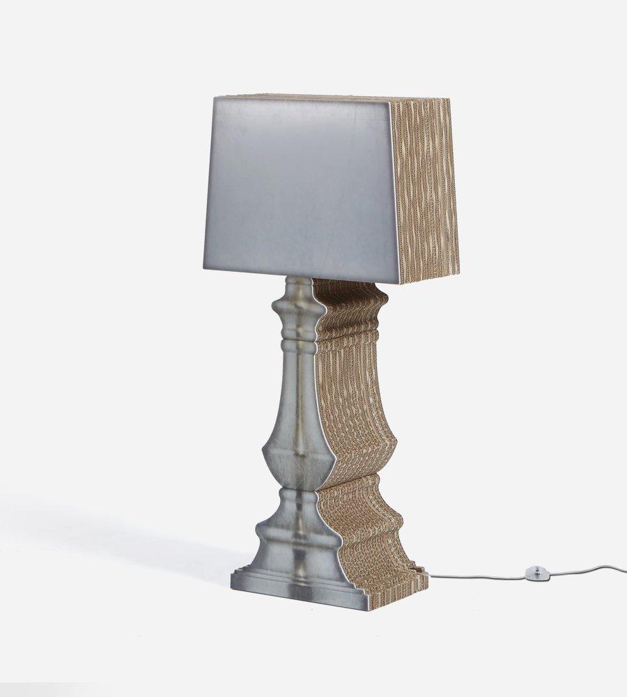 Lampada In Cartone 01lamp : La carta negli elementi di design creatività e