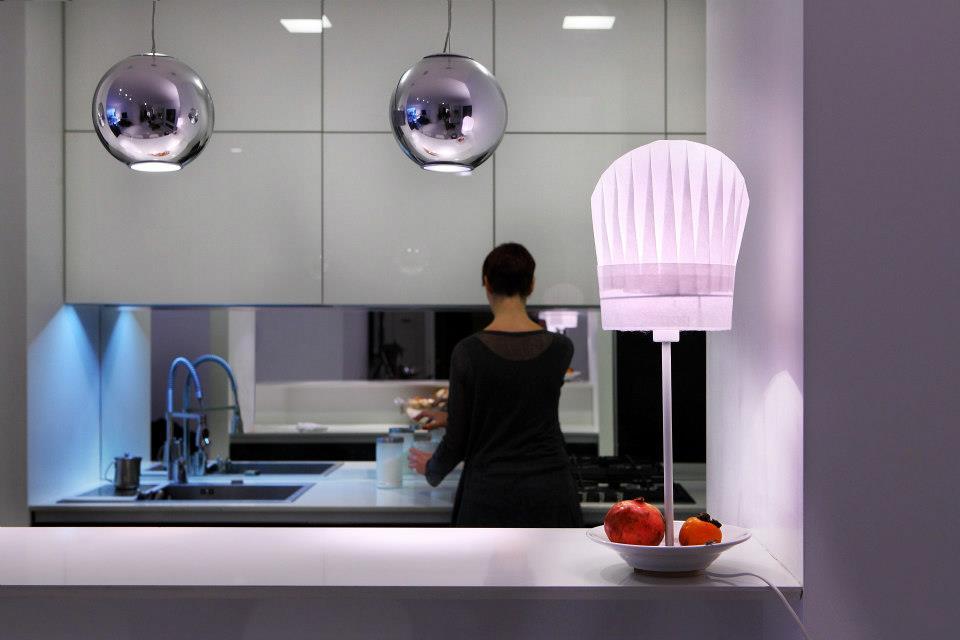 Lampade ecosostenibili di design: la lampada luchef