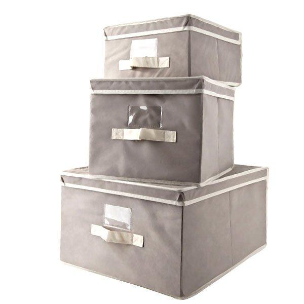 Scatole porta abiti per armadio alcuni esempi di design for Scatole riponi abiti