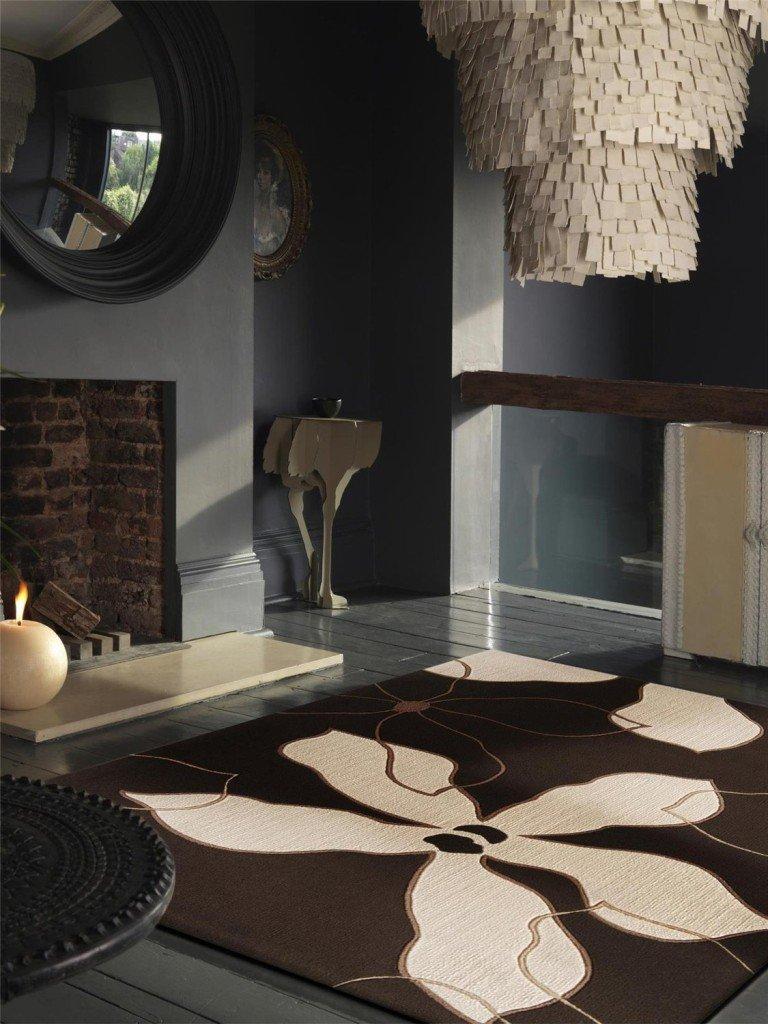 Tappeti camera da letto moderni e per l 39 autunno prezzi e modelli consigliati designandmore - Camera da letto marrone ...