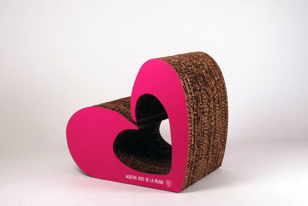 mobili in cartone corvasce design