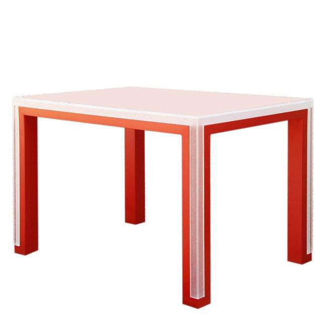 Migliori tavoli in plastica per il soggiorno: elda bellone table