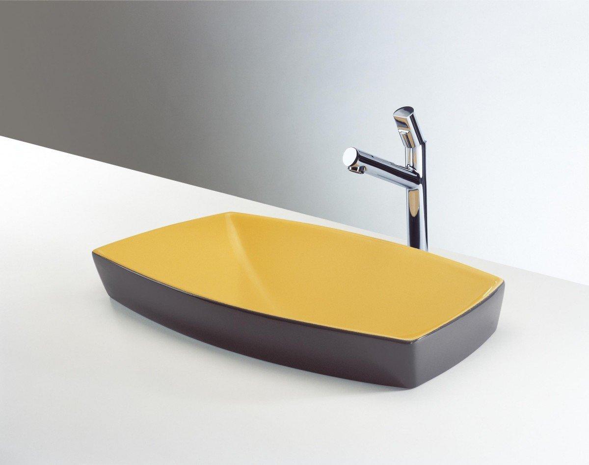 Bagno giallo: un colore caldo e vitaminico per osare