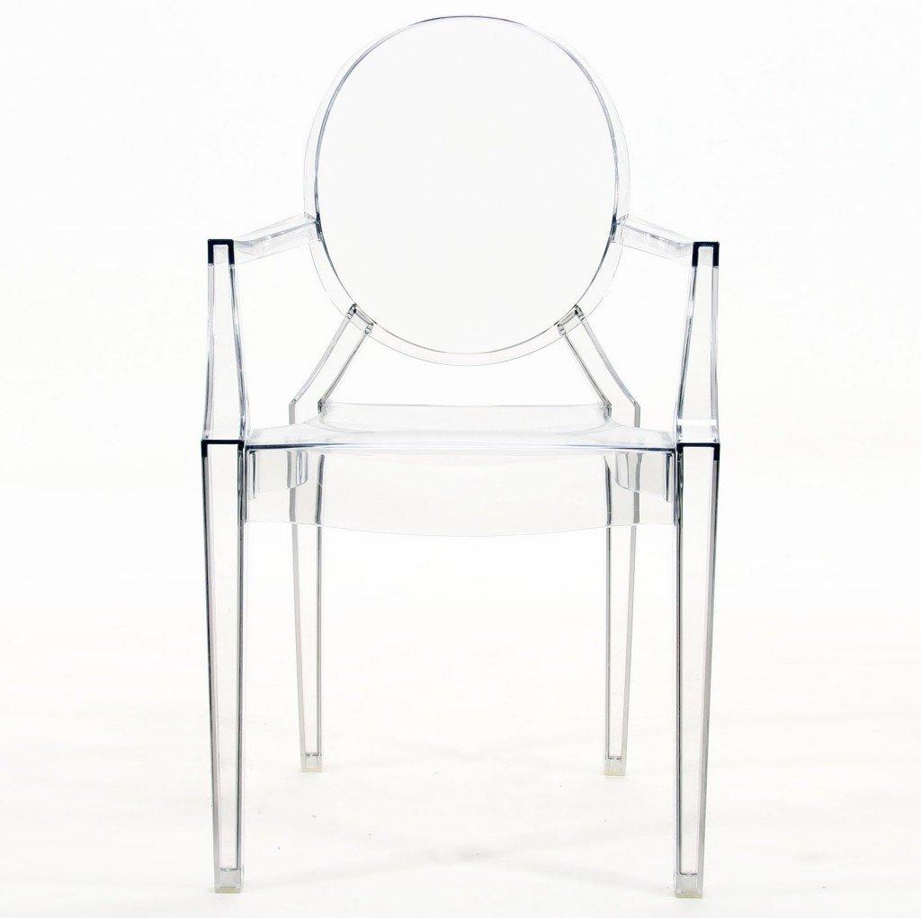 sedie in plastica luis ghost Philippe Starck