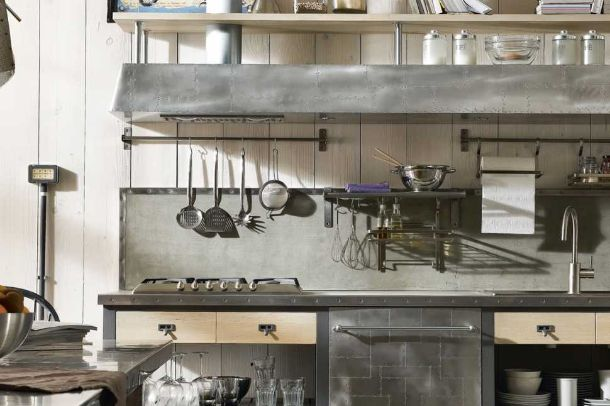 Photo of Tante foto ed esempi di cucine in stile industrial