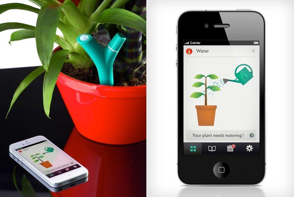giardiniere Virtuale Flower Power della Parrot