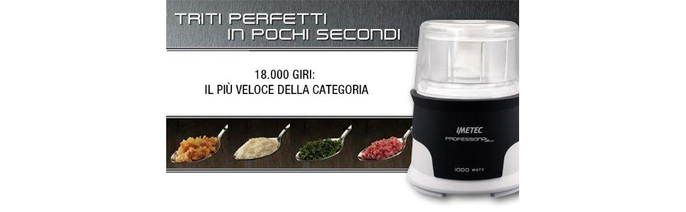 Migliori tritatutto per cucina - Imetec 7675 Professional Serie CH 2000