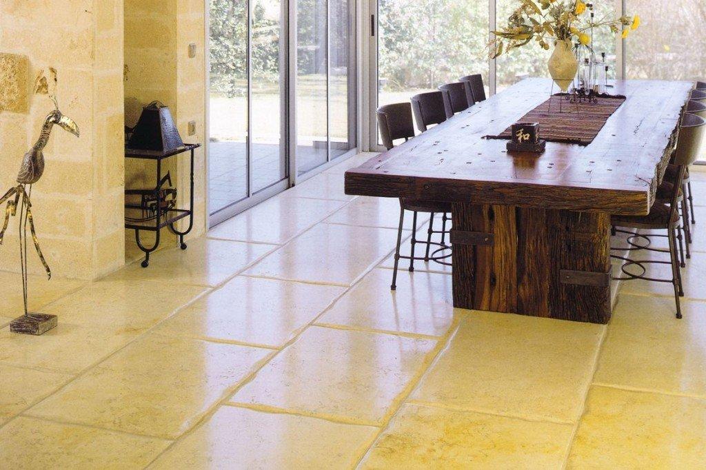 Pavimenti in pietra per interni