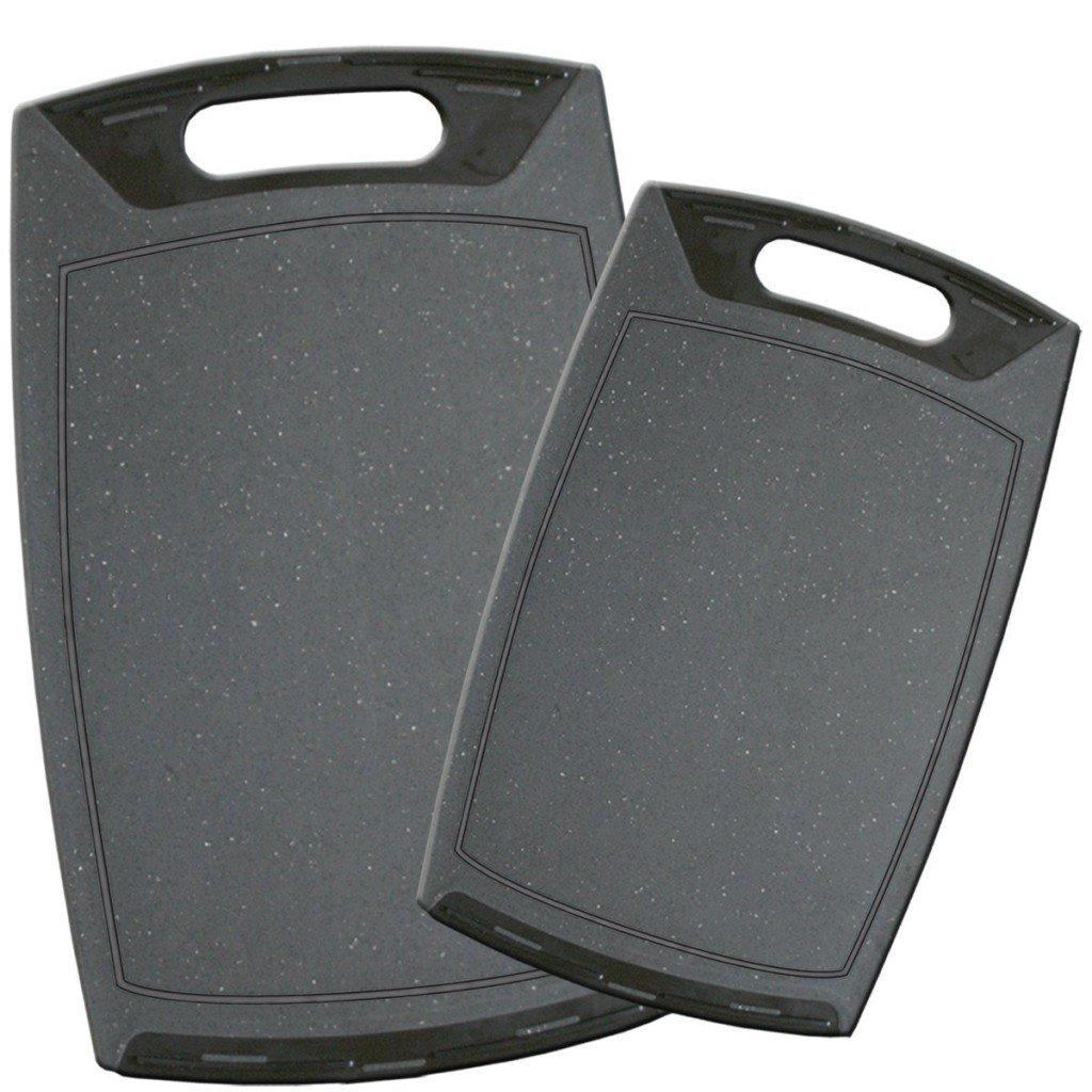Stoneline 9403 Set di 2 Taglieri, Protezione Antibatterica Microstar