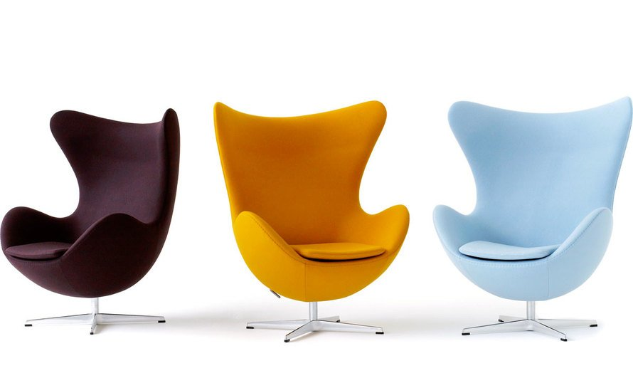 Arne Jacobsen sedie egg chair