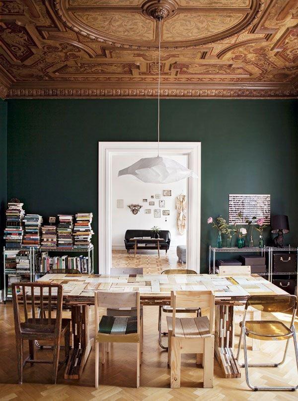 soffitto dipinto da Emma Persson Lagerberg