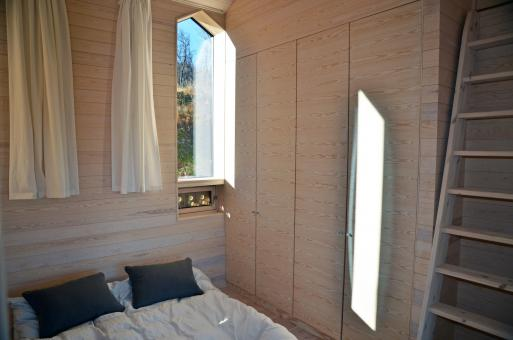 split view mountain lodge - Architettura d'avanguardia