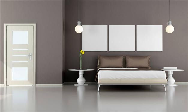 Super Color tortora per pareti: quali mobili abbinare, foto di esempi AW67