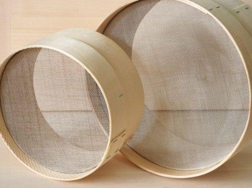 setacci in legno
