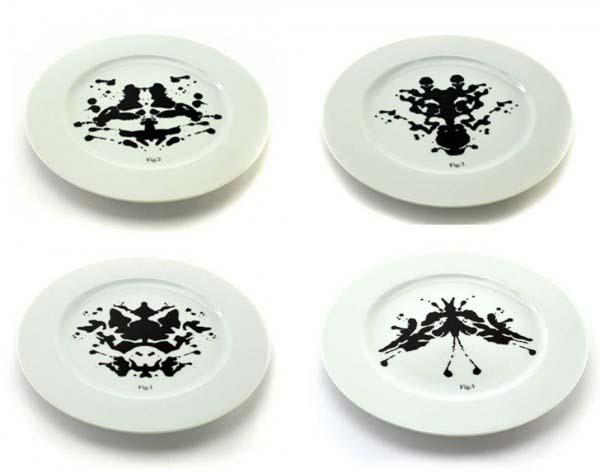 Piatti decorati in ceramica -Isabelle Foirest psicopiatti