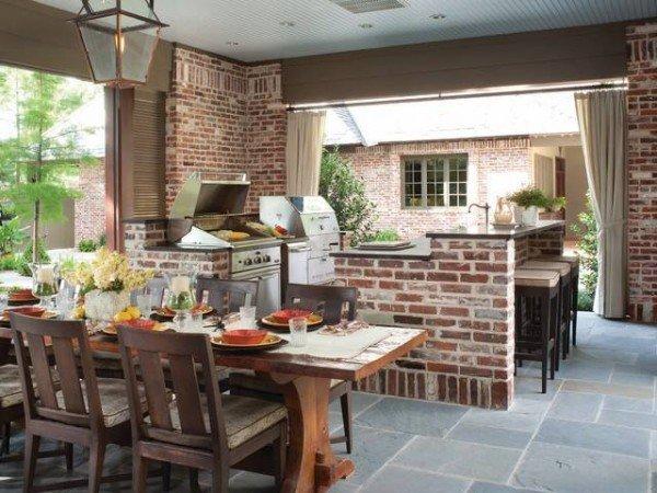 Cucine in muratura rustiche e moderne idee e suggerimenti designandmore arredare casa - Archi in cucina ...