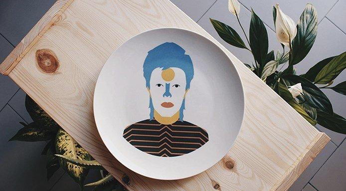 piatti dell'artista José A.Ronda 2