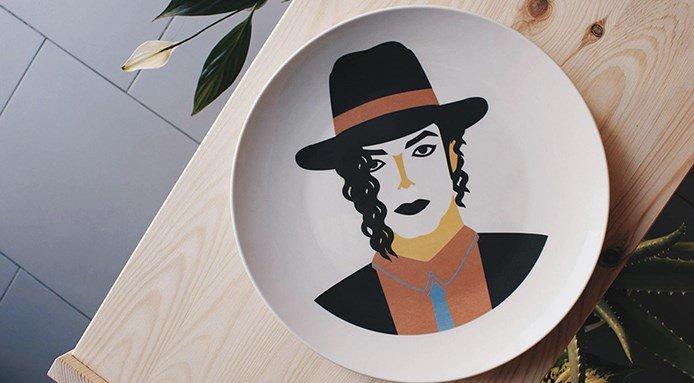 piatti dell'artista José A.Ronda 4
