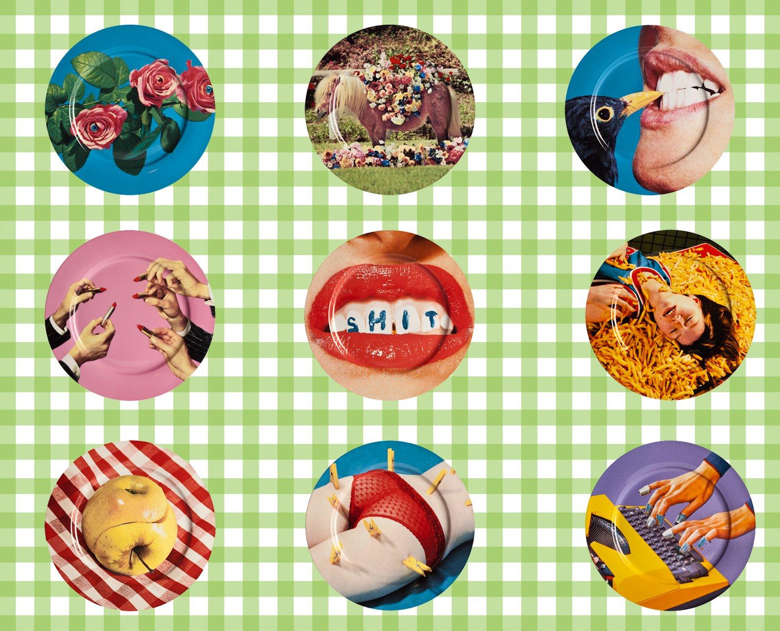 Piatti decorati in ceramica di design idee e suggerimenti - Piatti di frutta decorati ...