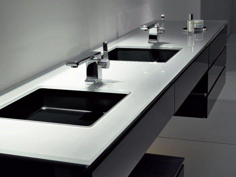 Photo of Il lavabo da incasso per il bagno è bello, pratico e geometrico, eccovi tanti esempi