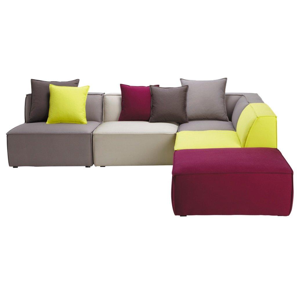 Divani ad angolo dimensioni vantaggi materiali ed opzioni anche letto - Divani letto maison du monde ...