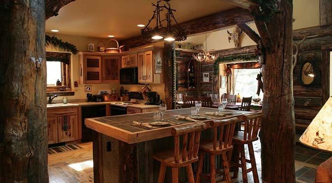 interno casa rustica