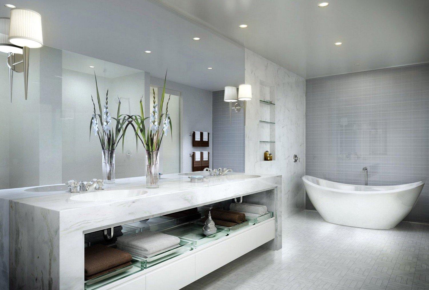Arredo Bagno Moderno In Marmo.Bagni In Marmo Tanti Esempi Da Imitare Con Prezzi E Consigli Su