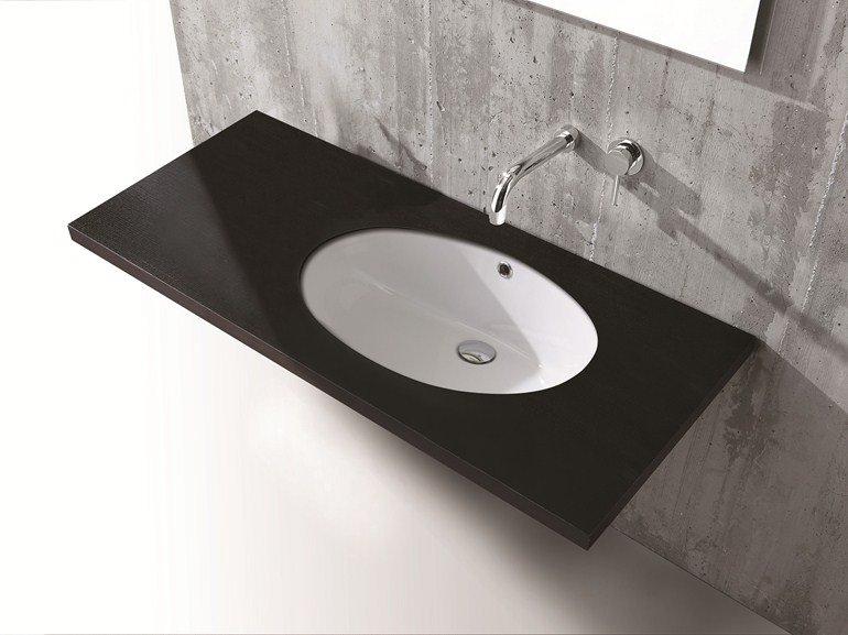 Lavabo da incasso per il bagno materiali e forme delle migliori marche - Accessori bagno in ceramica da incasso ...