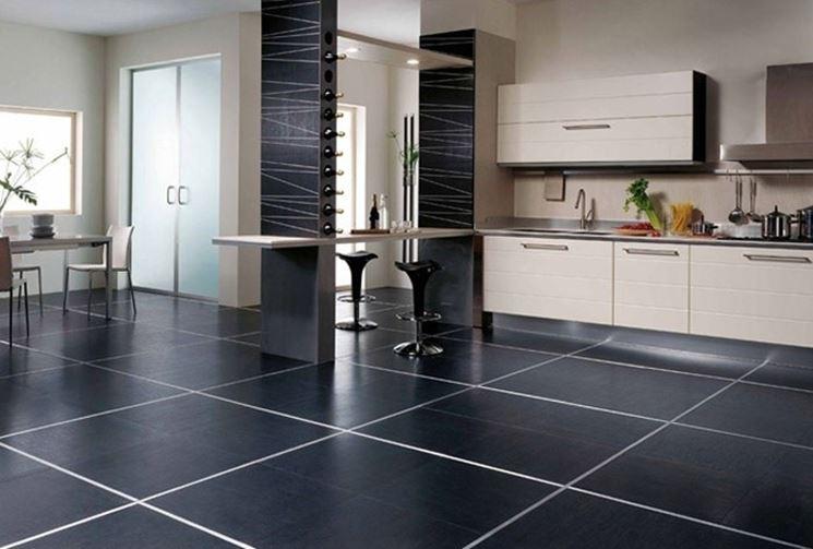 scegliere il pavimento della cucina