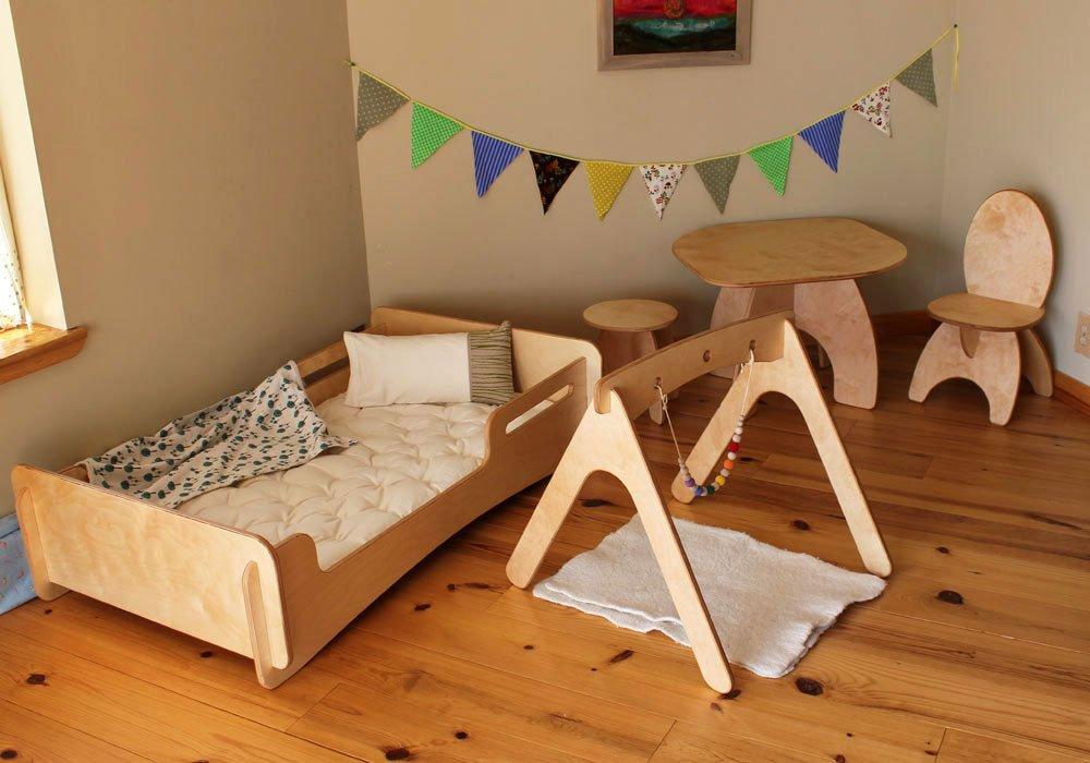 Lettino montessori scoprite i modelli della woodly in legno for Ikea lettini bimbi