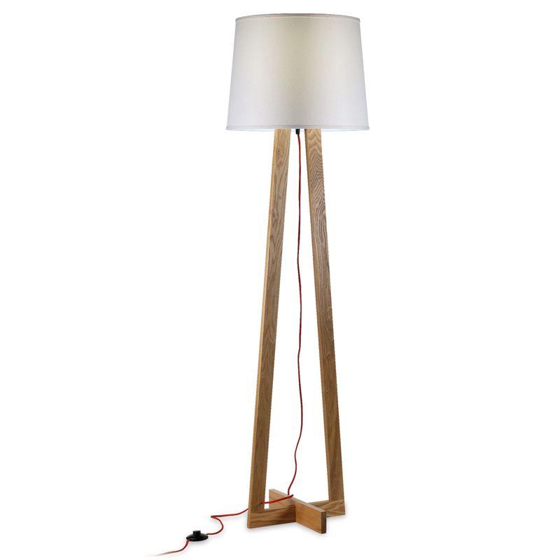 Lampade da terra marche di design prezzi e modelli for Lampada piantana maison du monde