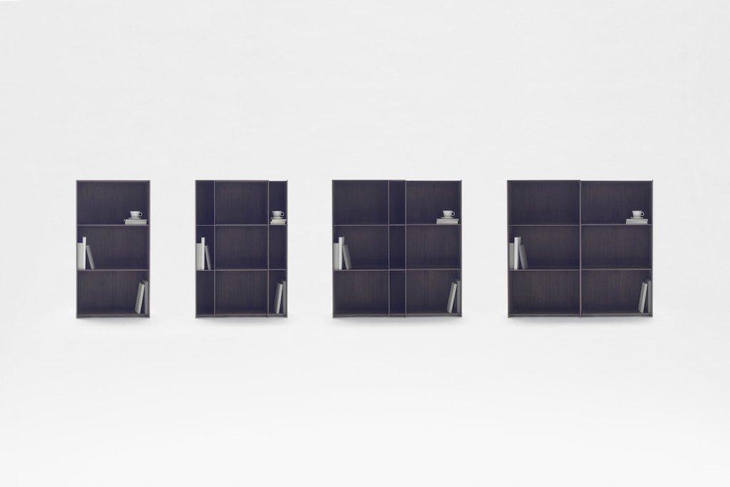 Mobili salvaspazio - nendo next shelf