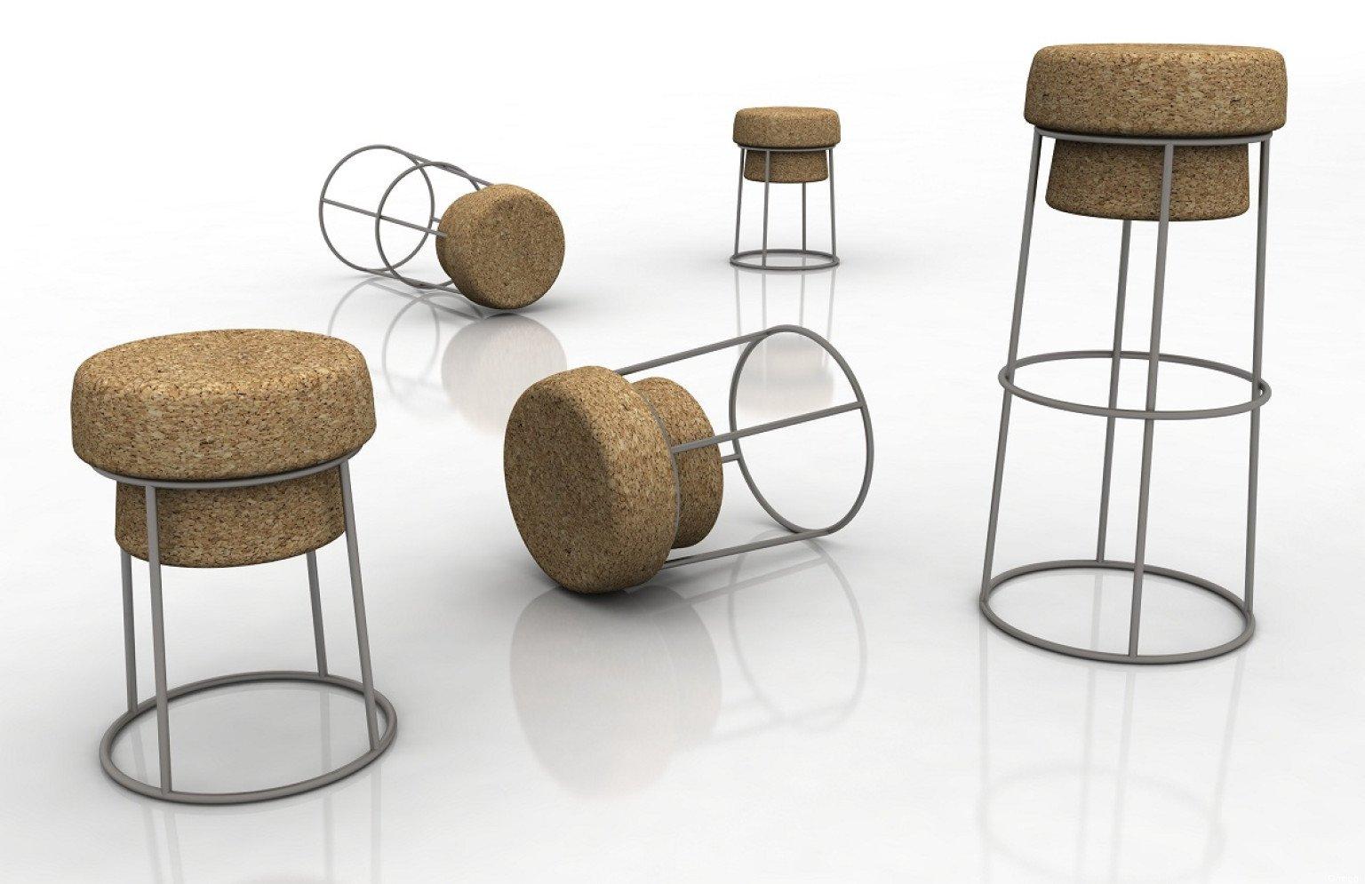 Arredamento in sughero mobili di design ed esempi designandmore