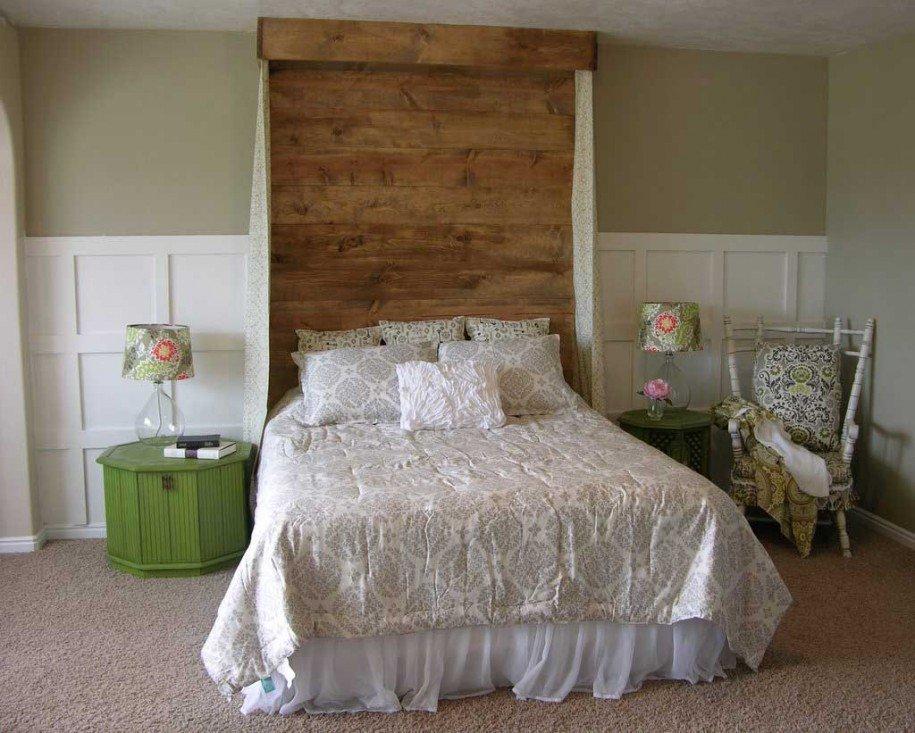 Testiera letto fai da te idee per un retro letto originale - Testiera letto design ...