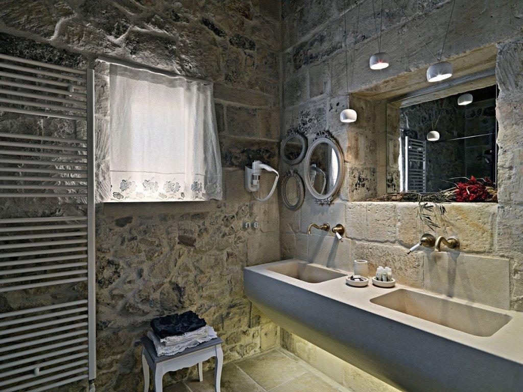 Bagni in muratura idee esempi e soluzioni pratiche - Lavabo bagno muratura ...