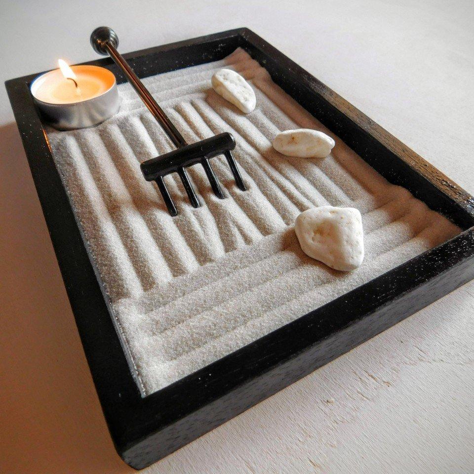 giardino zen da tavolo la spiritualit in casa