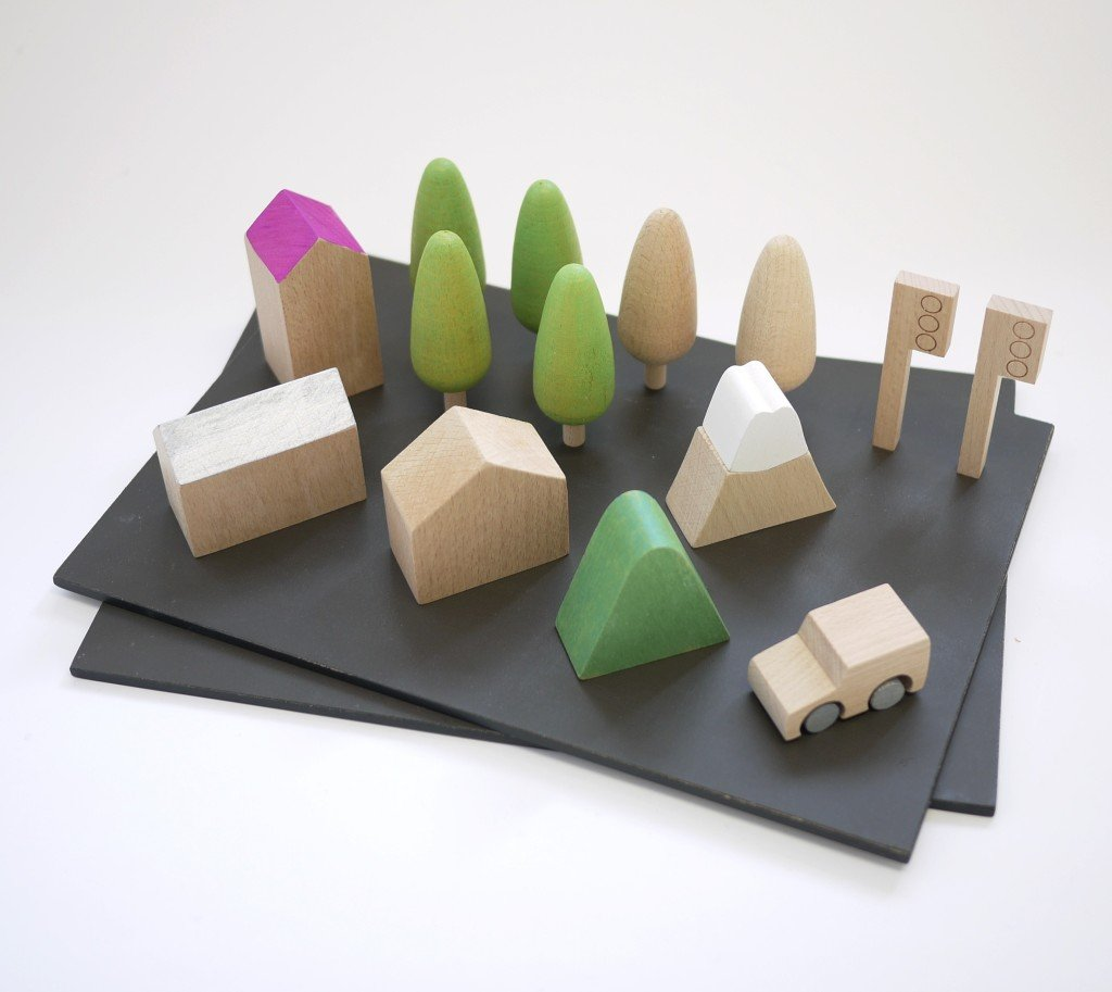 machi town giocattoli di design